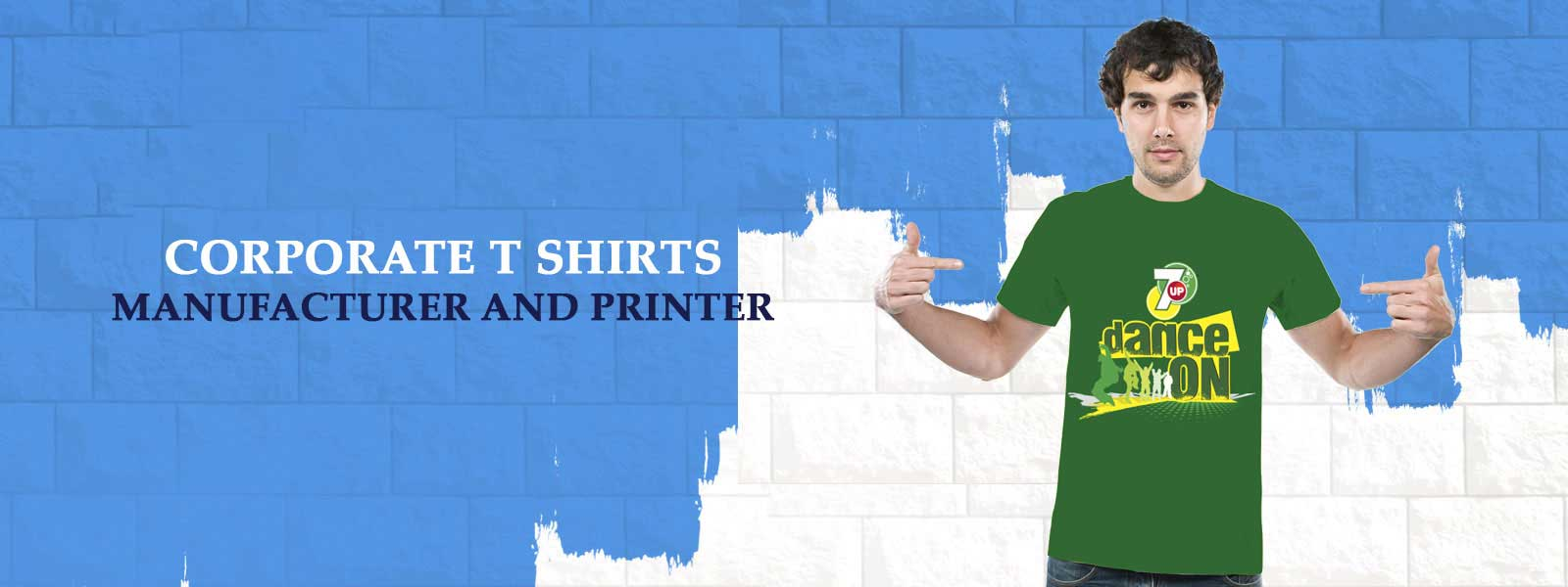 Corporate t shirts manufacturer & printer