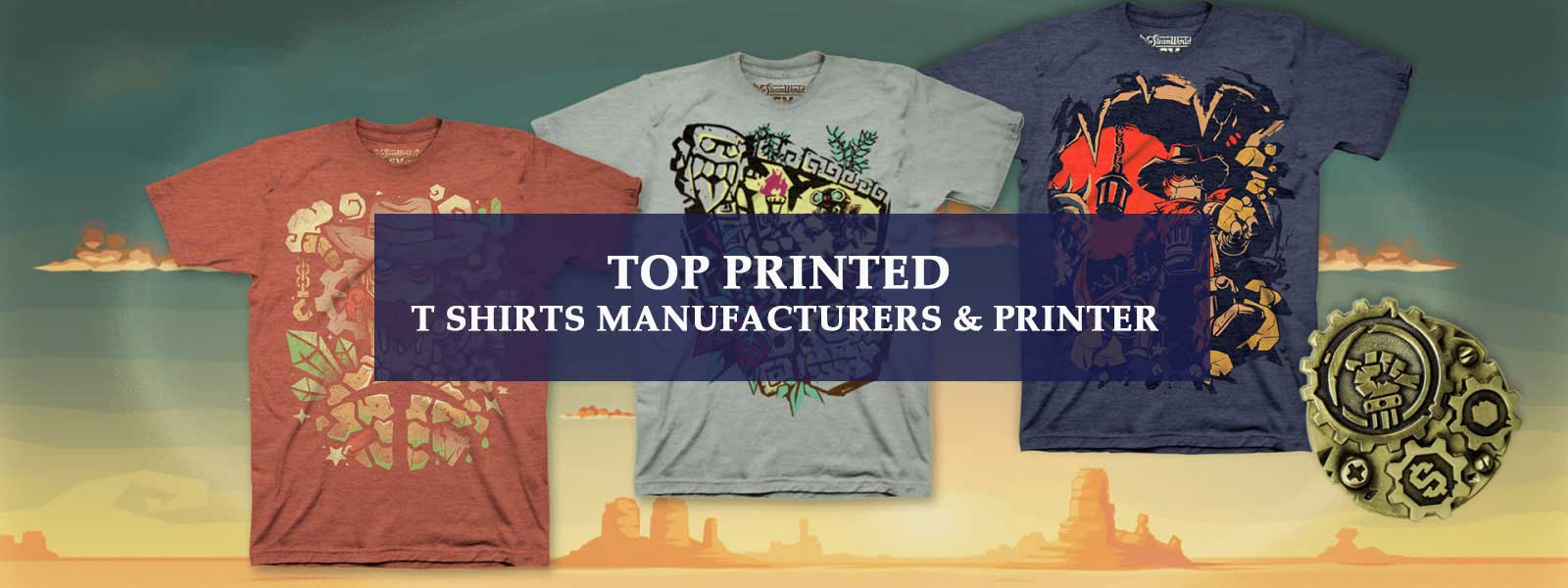 Top printed t shirts Manufacturers and Printer