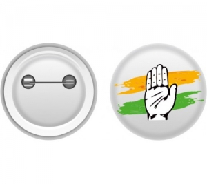 Election Campaign Slogans Pin