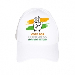 Election Campaign Slogans Caps Manufacturers in Delhi