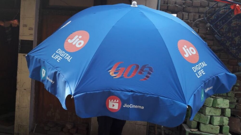 Umbrellas in Canada