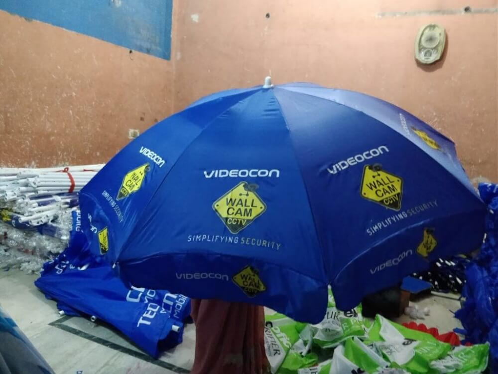 Umbrellas in Lakshadweep