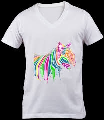 V Neck T Shirt Printing Services in Morbi