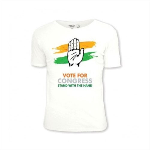 Congress Election T Shirt Services in Anjaw